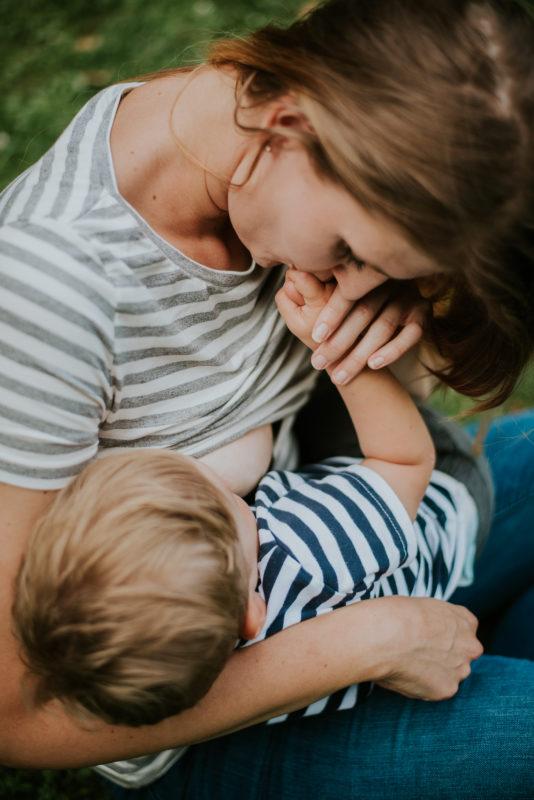 Tričká na dojčenie